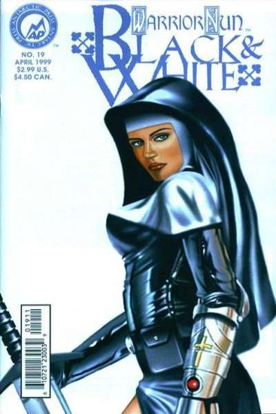 Warrior Nun: Black and White #19 comic books for sale