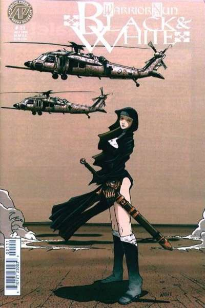 Warrior Nun: Black and White #21 comic books for sale