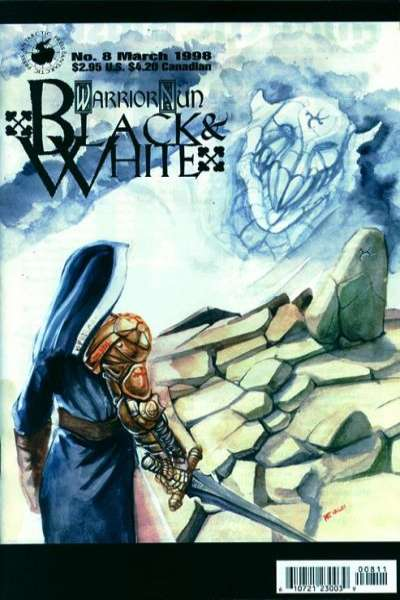 Warrior Nun: Black and White #8 comic books for sale