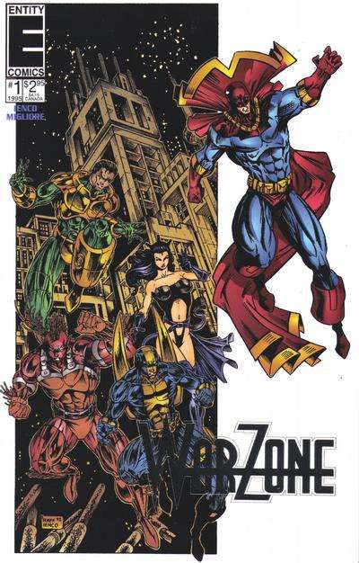 Warzone #1 comic books - cover scans photos Warzone #1 comic books - covers, picture gallery