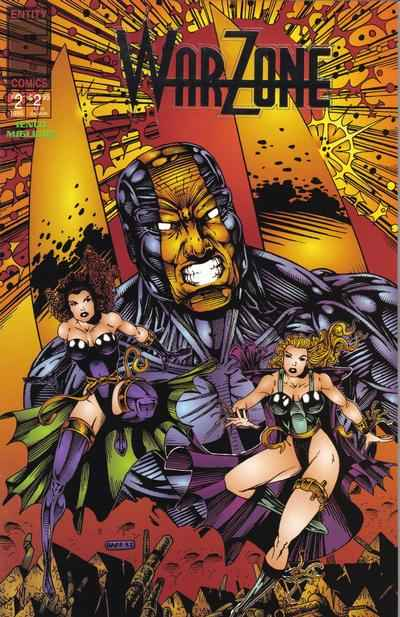 Warzone #3 Comic Books - Covers, Scans, Photos  in Warzone Comic Books - Covers, Scans, Gallery