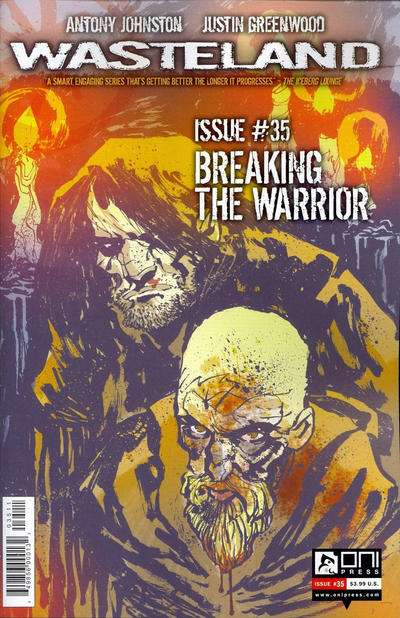 Wasteland #35 comic books for sale