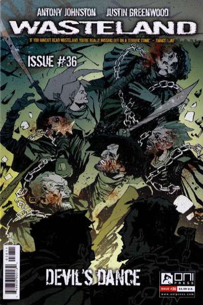 Wasteland #36 comic books for sale