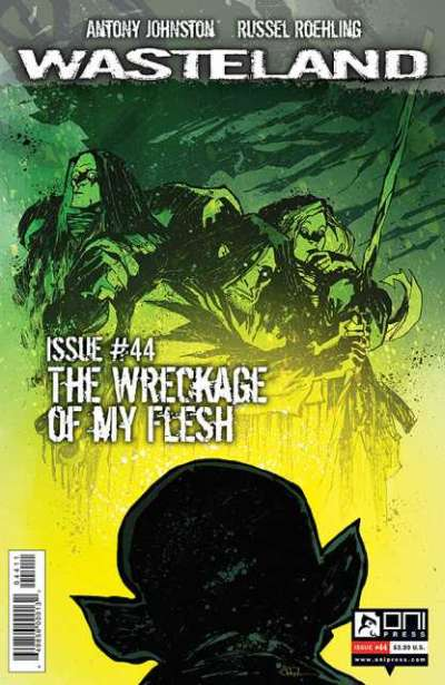 Wasteland #44 comic books for sale
