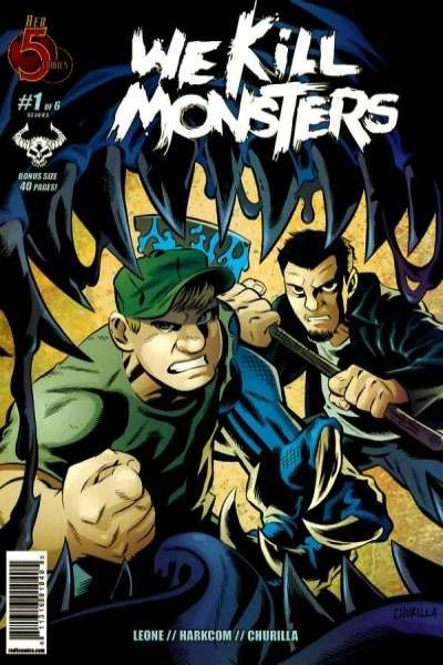 We Kill Monsters comic books