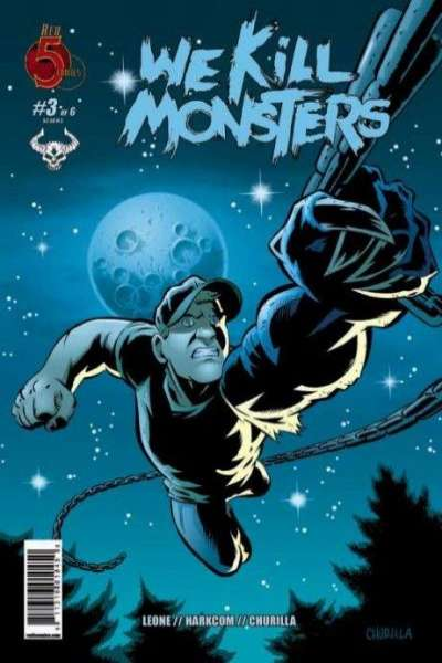 We Kill Monsters #3 comic books - cover scans photos We Kill Monsters #3 comic books - covers, picture gallery