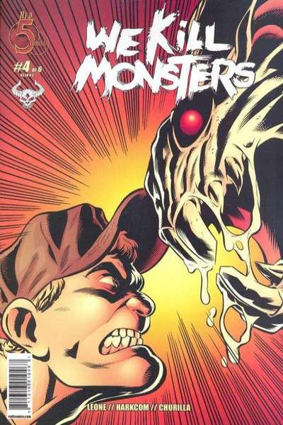 We Kill Monsters #4 comic books - cover scans photos We Kill Monsters #4 comic books - covers, picture gallery