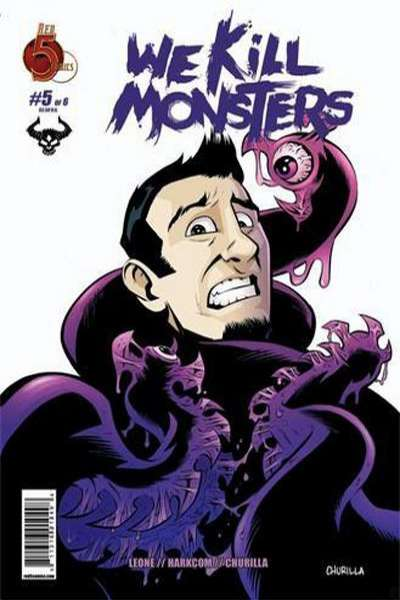 We Kill Monsters #5 comic books - cover scans photos We Kill Monsters #5 comic books - covers, picture gallery
