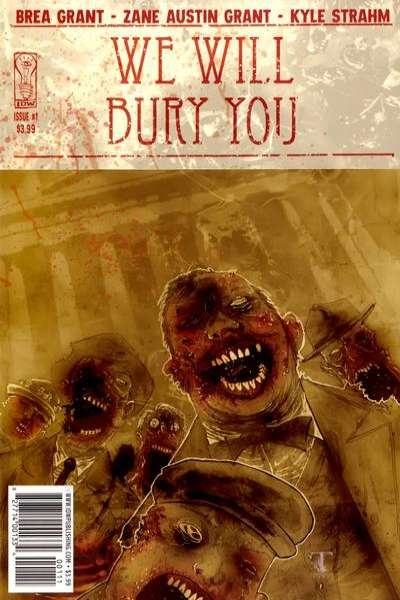 We Will Bury You comic books