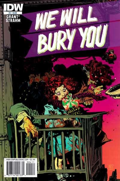We Will Bury You #4 comic books - cover scans photos We Will Bury You #4 comic books - covers, picture gallery