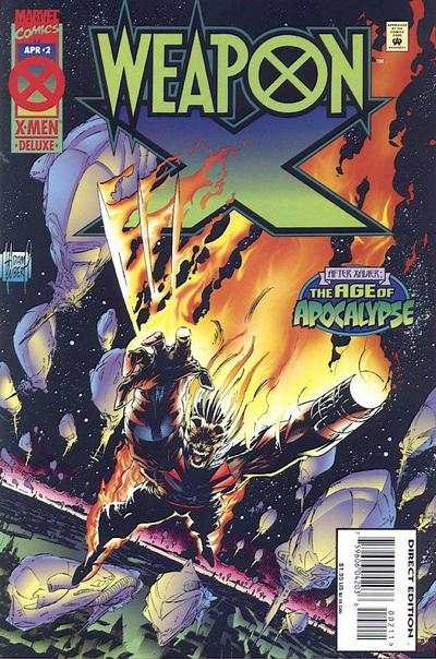 Weapon X #2 Comic Books - Covers, Scans, Photos  in Weapon X Comic Books - Covers, Scans, Gallery