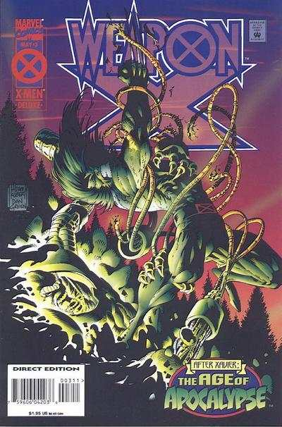Weapon X #3 Comic Books - Covers, Scans, Photos  in Weapon X Comic Books - Covers, Scans, Gallery