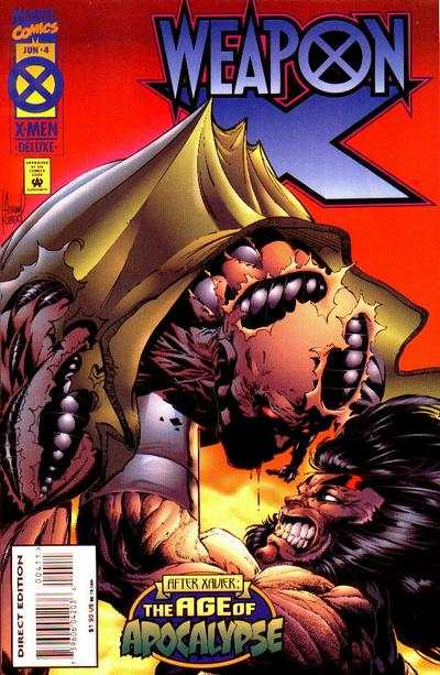 Weapon X #4 comic books - cover scans photos Weapon X #4 comic books - covers, picture gallery