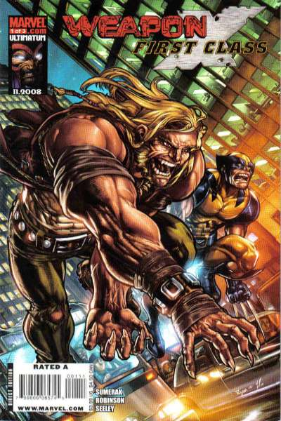 Weapon X: First Class #1 comic books - cover scans photos Weapon X: First Class #1 comic books - covers, picture gallery
