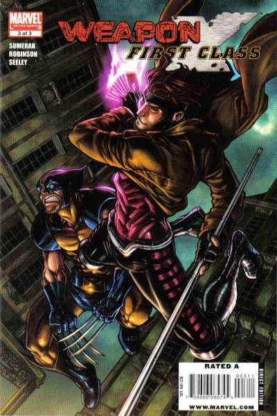 Weapon X: First Class #3 Comic Books - Covers, Scans, Photos  in Weapon X: First Class Comic Books - Covers, Scans, Gallery