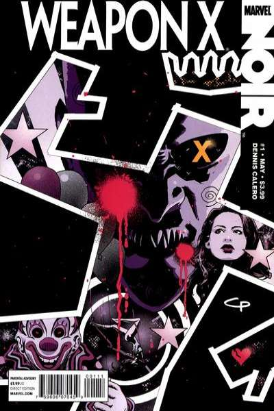 Weapon X Noir #1 comic books - cover scans photos Weapon X Noir #1 comic books - covers, picture gallery
