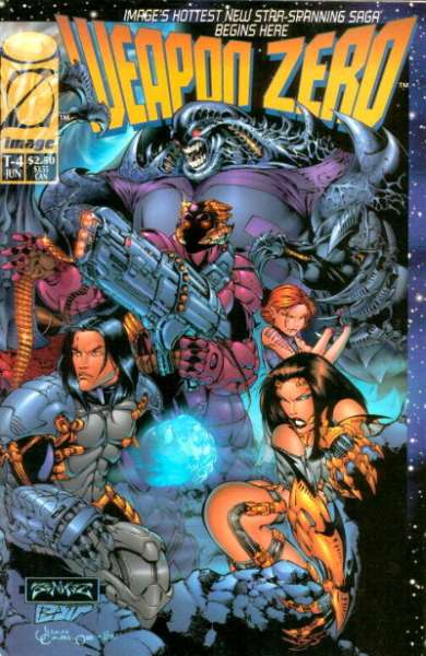 Weapon Zero comic books