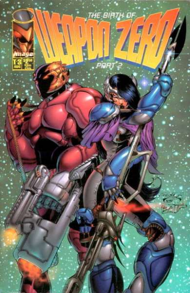 Weapon Zero #2 comic books for sale
