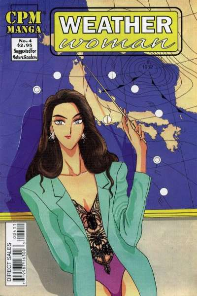 Weather Woman #4 Comic Books - Covers, Scans, Photos  in Weather Woman Comic Books - Covers, Scans, Gallery