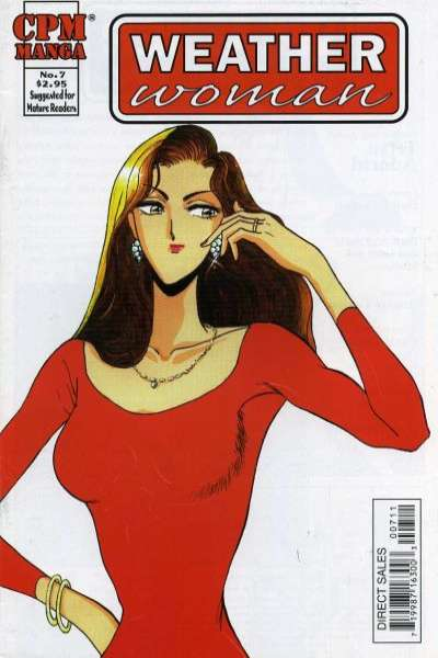 Weather Woman #7 comic books - cover scans photos Weather Woman #7 comic books - covers, picture gallery