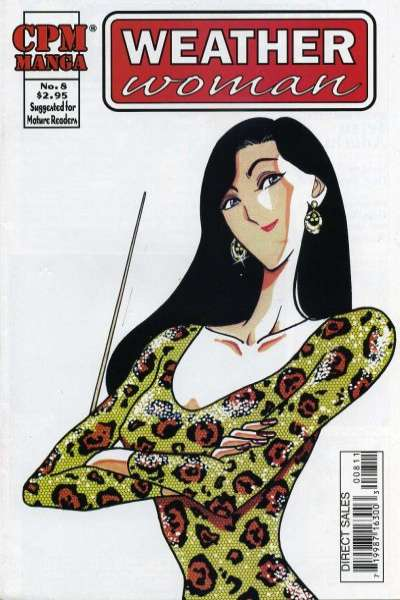 Weather Woman #8 comic books - cover scans photos Weather Woman #8 comic books - covers, picture gallery