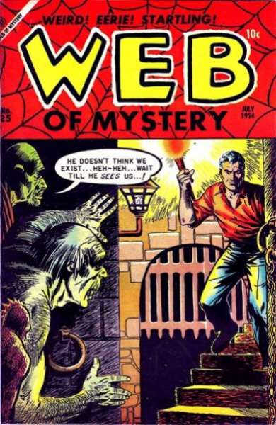 Web of Mystery #25 comic books - cover scans photos Web of Mystery #25 comic books - covers, picture gallery