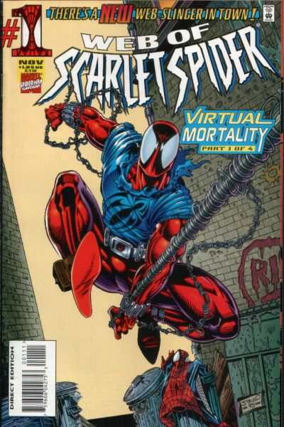 Web of Scarlet Spider #1 comic books - cover scans photos Web of Scarlet Spider #1 comic books - covers, picture gallery