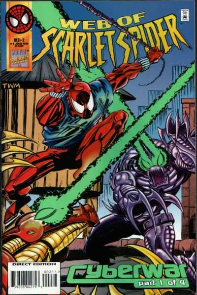 Web of Scarlet Spider #2 comic books - cover scans photos Web of Scarlet Spider #2 comic books - covers, picture gallery