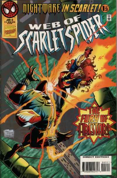 Web of Scarlet Spider #3 comic books - cover scans photos Web of Scarlet Spider #3 comic books - covers, picture gallery