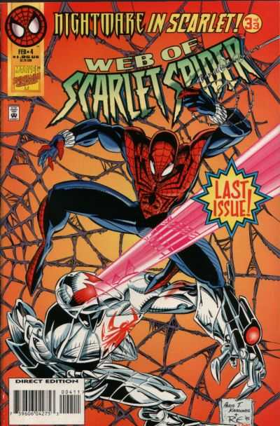 Web of Scarlet Spider #4 comic books - cover scans photos Web of Scarlet Spider #4 comic books - covers, picture gallery