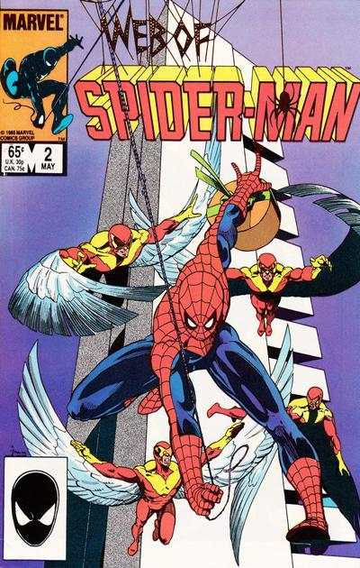 Web of Spider-Man #2 comic books - cover scans photos Web of Spider-Man #2 comic books - covers, picture gallery