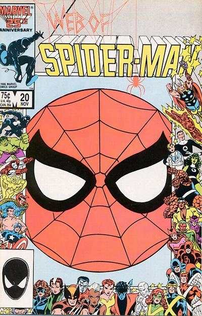 Web of Spider-Man #20 comic books - cover scans photos Web of Spider-Man #20 comic books - covers, picture gallery
