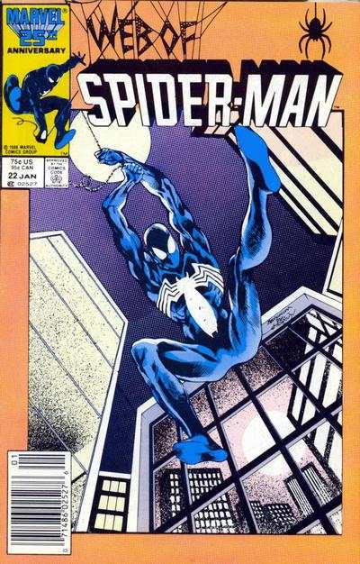 Web of Spider-Man #22 comic books - cover scans photos Web of Spider-Man #22 comic books - covers, picture gallery