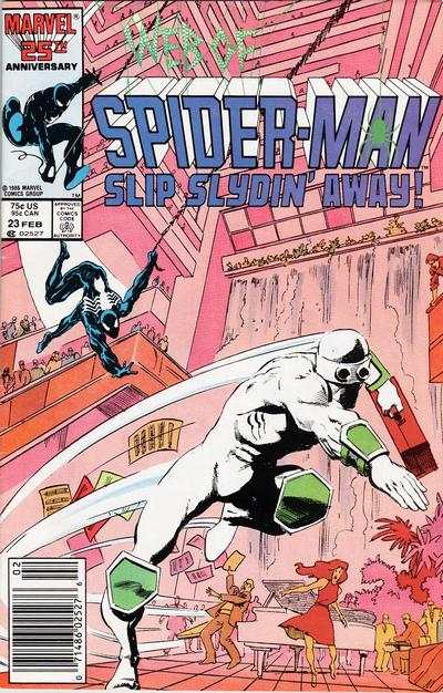 Web of Spider-Man #23 comic books - cover scans photos Web of Spider-Man #23 comic books - covers, picture gallery