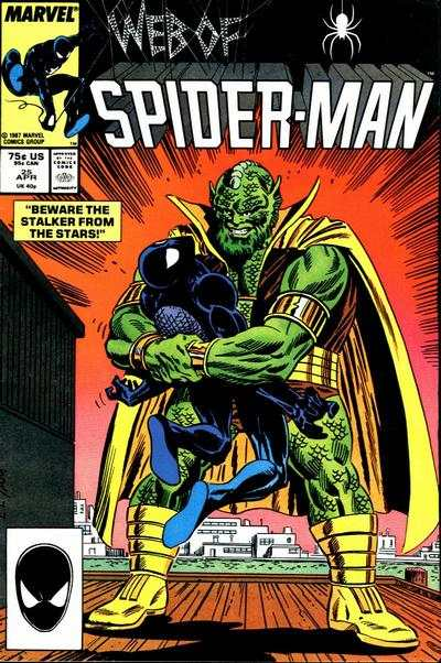Web of Spider-Man #25 comic books - cover scans photos Web of Spider-Man #25 comic books - covers, picture gallery