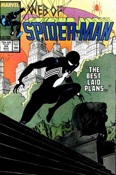 Web of Spider-Man #26 Comic Books - Covers, Scans, Photos  in Web of Spider-Man Comic Books - Covers, Scans, Gallery