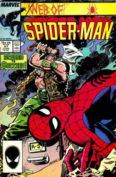 Web of Spider-Man #27 Comic Books - Covers, Scans, Photos  in Web of Spider-Man Comic Books - Covers, Scans, Gallery