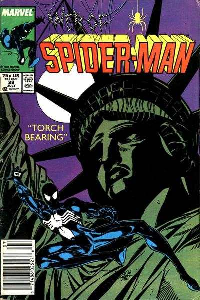 Web of Spider-Man #28 Comic Books - Covers, Scans, Photos  in Web of Spider-Man Comic Books - Covers, Scans, Gallery