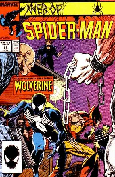 Web of Spider-Man #29 comic books - cover scans photos Web of Spider-Man #29 comic books - covers, picture gallery