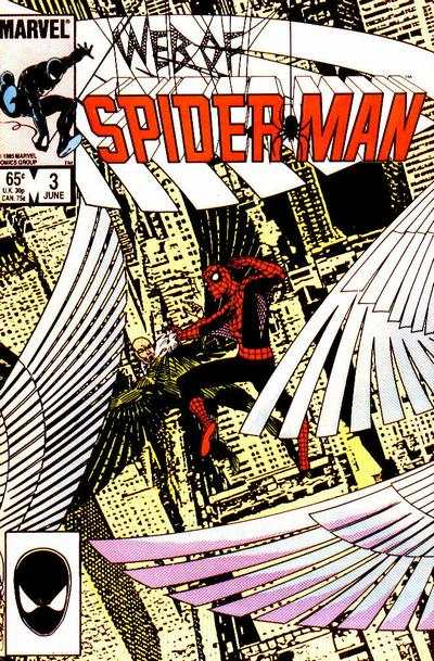 Web of Spider-Man #3 comic books - cover scans photos Web of Spider-Man #3 comic books - covers, picture gallery