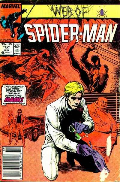 Web of Spider-Man #30 comic books - cover scans photos Web of Spider-Man #30 comic books - covers, picture gallery
