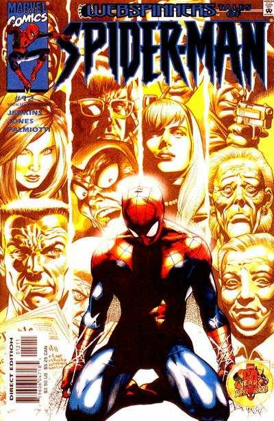 Webspinners: Tales of Spider-Man #12 comic books - cover scans photos Webspinners: Tales of Spider-Man #12 comic books - covers, picture gallery