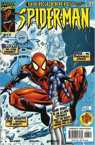 Webspinners: Tales of Spider-Man #13 comic books - cover scans photos Webspinners: Tales of Spider-Man #13 comic books - covers, picture gallery