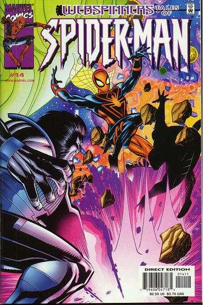 Webspinners: Tales of Spider-Man #14 Comic Books - Covers, Scans, Photos  in Webspinners: Tales of Spider-Man Comic Books - Covers, Scans, Gallery