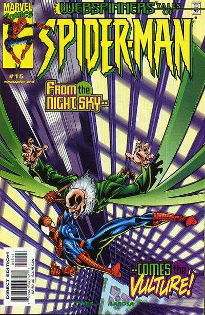 Webspinners: Tales of Spider-Man #15 comic books - cover scans photos Webspinners: Tales of Spider-Man #15 comic books - covers, picture gallery