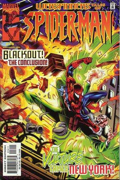 Webspinners: Tales of Spider-Man #16 comic books - cover scans photos Webspinners: Tales of Spider-Man #16 comic books - covers, picture gallery