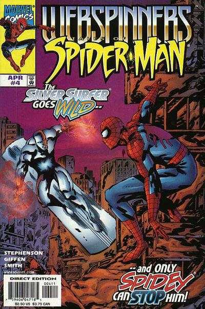Webspinners: Tales of Spider-Man #4 Comic Books - Covers, Scans, Photos  in Webspinners: Tales of Spider-Man Comic Books - Covers, Scans, Gallery