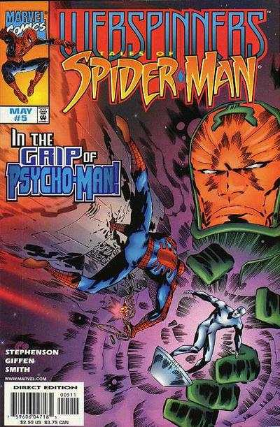 Webspinners: Tales of Spider-Man #5 comic books - cover scans photos Webspinners: Tales of Spider-Man #5 comic books - covers, picture gallery