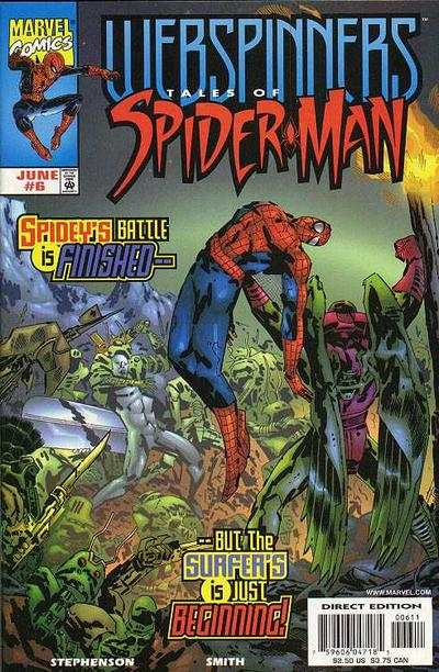 Webspinners: Tales of Spider-Man #6 comic books - cover scans photos Webspinners: Tales of Spider-Man #6 comic books - covers, picture gallery