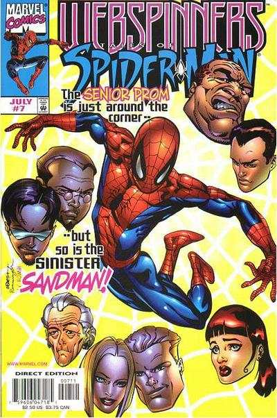 Webspinners: Tales of Spider-Man #7 comic books - cover scans photos Webspinners: Tales of Spider-Man #7 comic books - covers, picture gallery